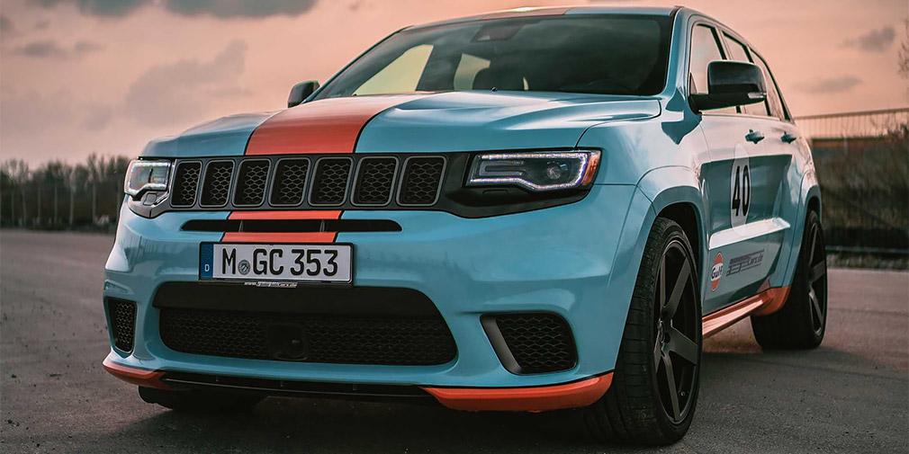 Немецкие тюнеры выпустили 900-сильный Jeep Grand Cherokee 1