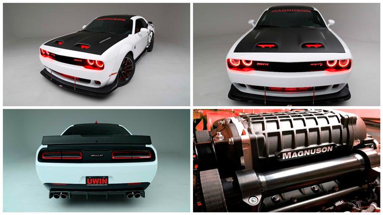 Dodge Challenger Hellcat получил в Германии 890 «лошадей» 1