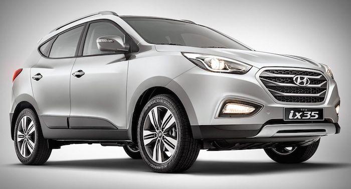 Кроссовер Hyundai ix35 вновь стал бестселлером 1