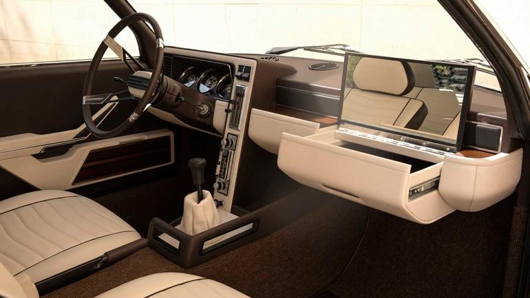 Компания BMW воссоздала потерянный концепт 1970 года 1