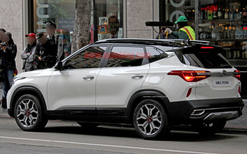 Новый конкурент Hyundai Creta: первые фото Kia без камуфляжа 2