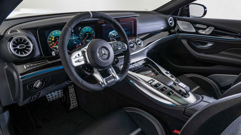 Brabus показал 800-сильный Mercedes-AMG GT 4