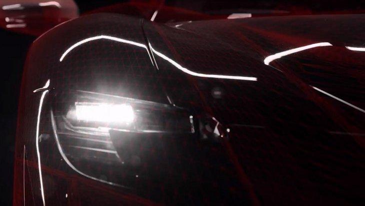 Ferrari показала финальный тизер нового суперкара с гибридным двигателем 1