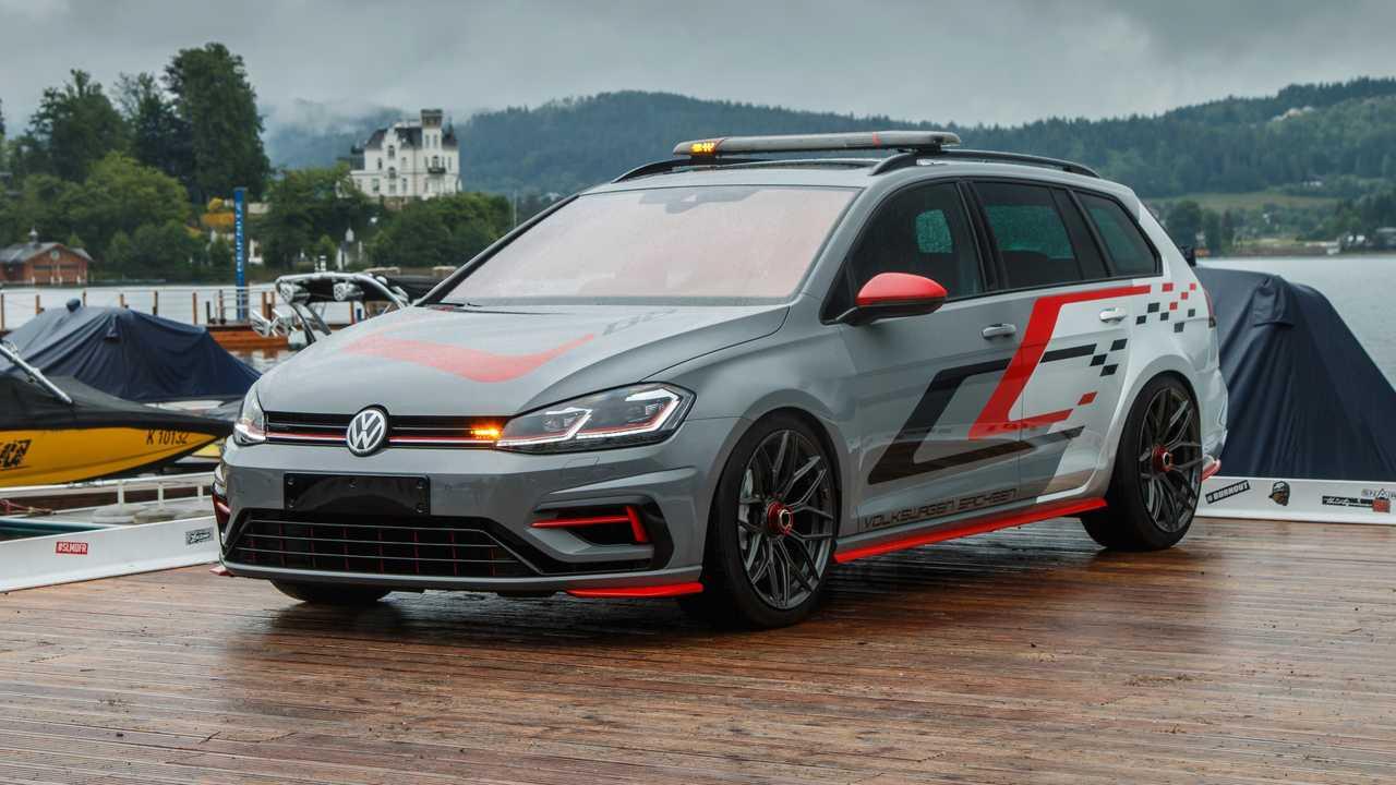 Представлены сразу два очень горячих VW Golf 2