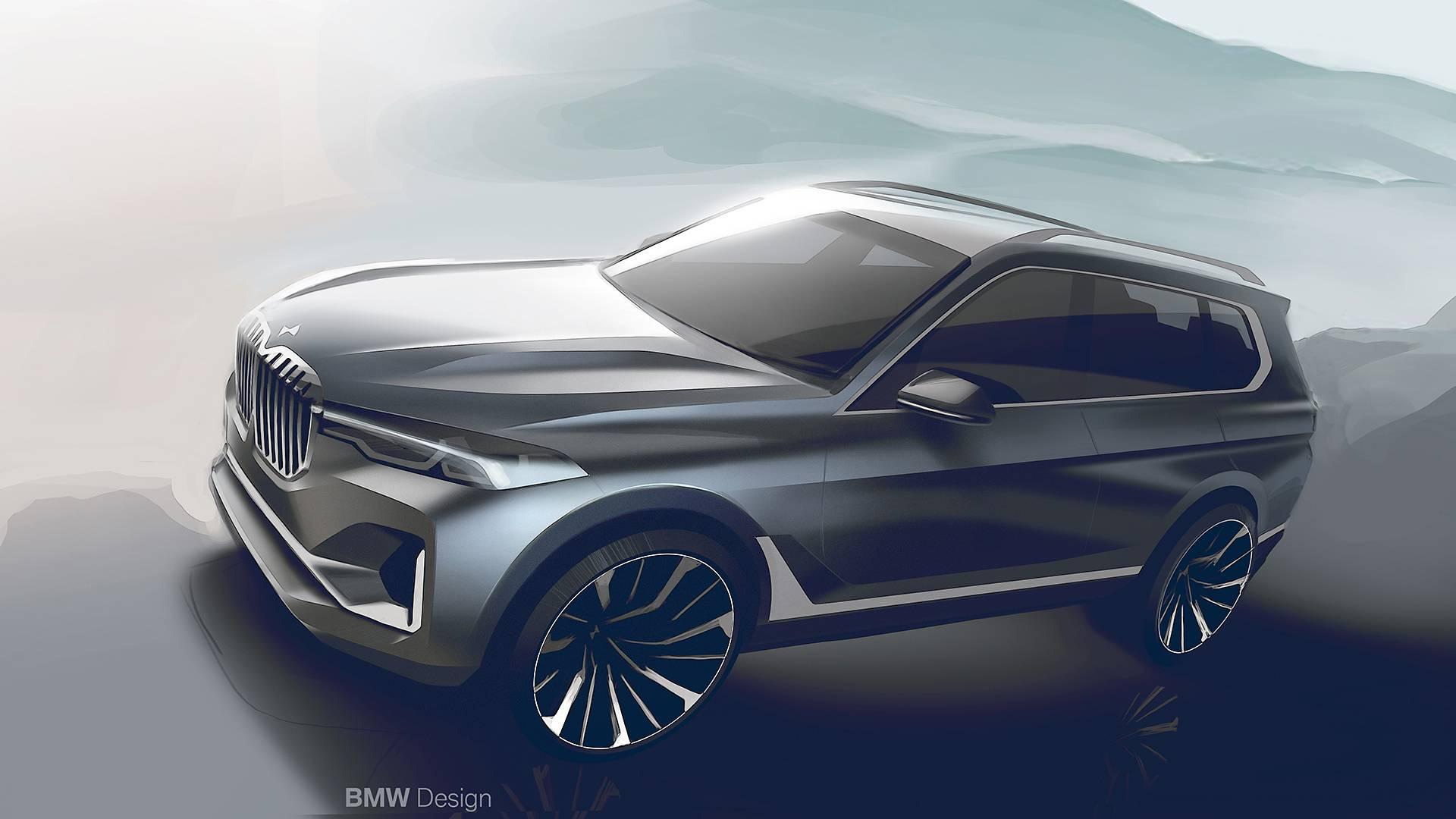 BMW ведёт работу над новым кроссовером X8 1