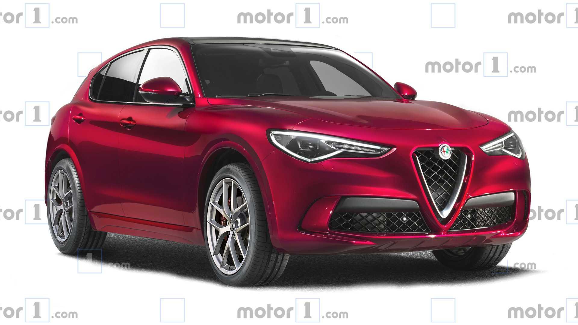 Рестайлинг даст Alfa Romeo Stelvio новую внешность 1