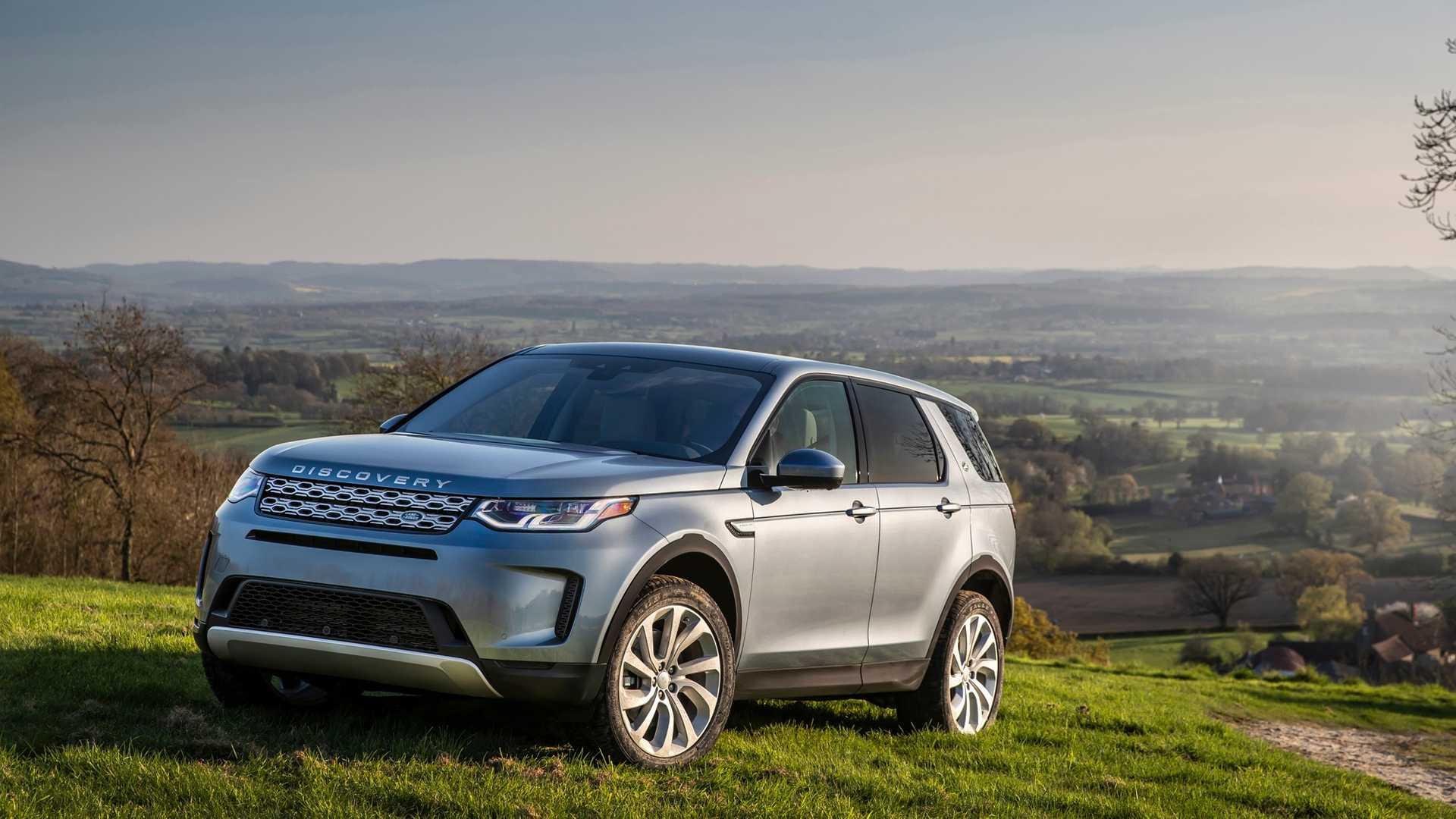 Land Rover показал обновлённый Discovery Sport 1