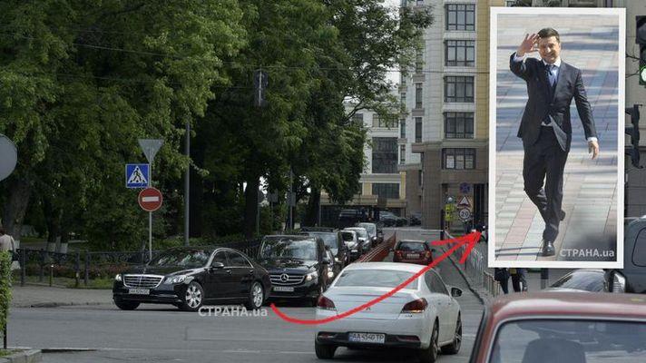 Как выглядит кортеж Президента Украины 2