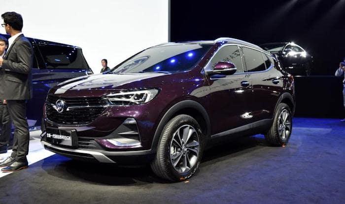 Интерьер нового кроссовера Buick Encore GX покажут 3 июня 1