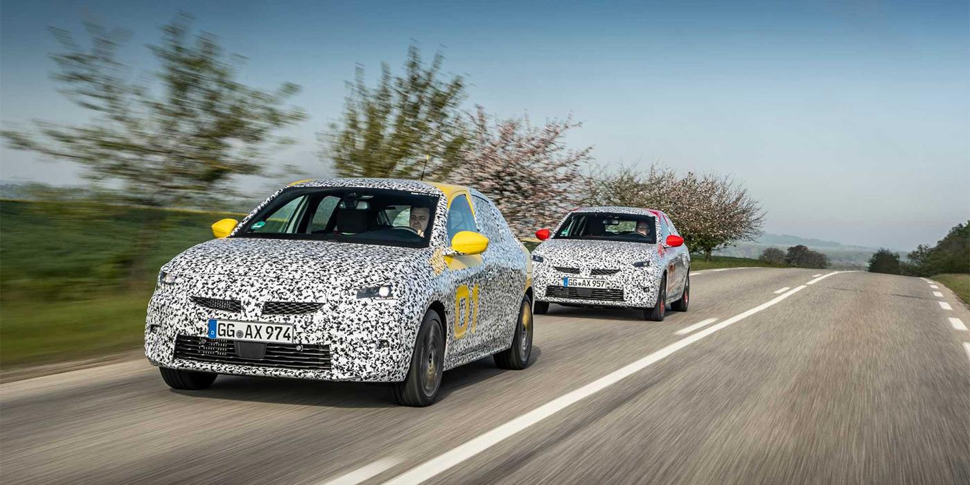 Opel вывел на финальные тесты новую Corsa 1