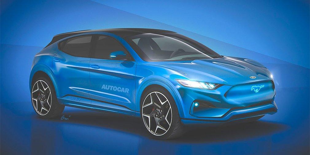Электрический кроссовер Ford представят в конце года 1