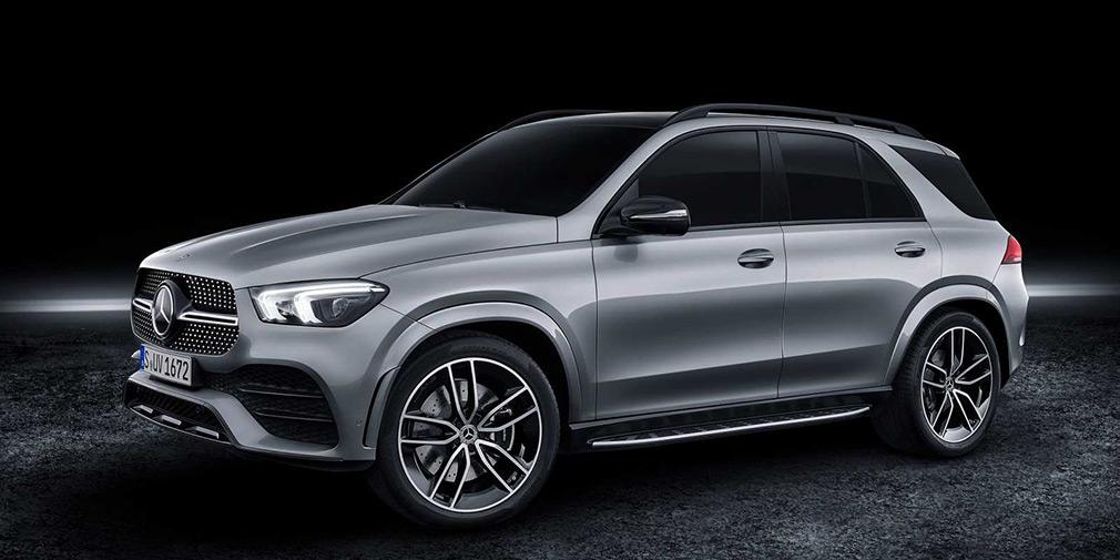 Mercedes показал самую мощную версию кроссовера GLE 1