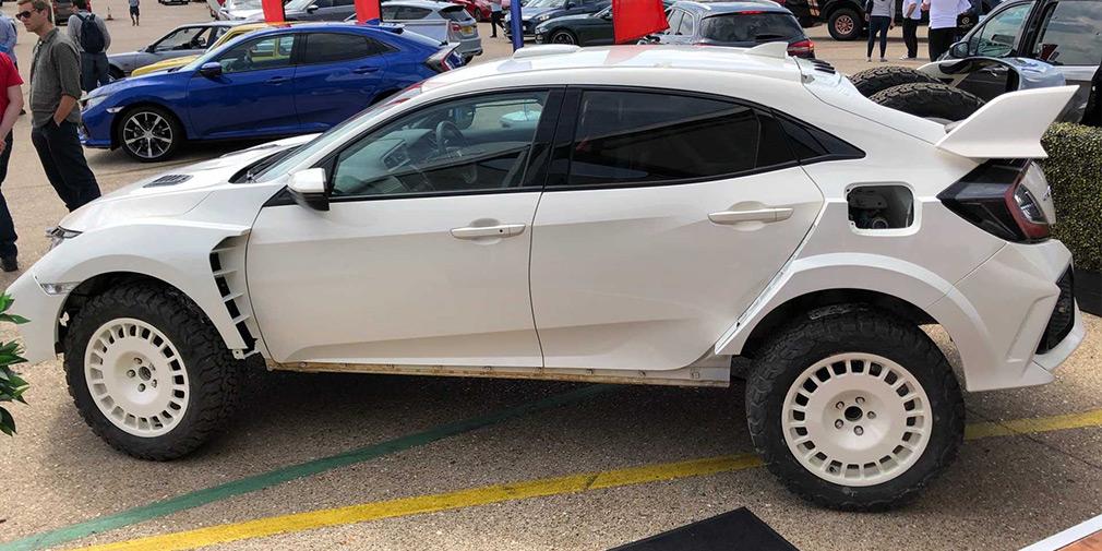 Тюнеры превратили хот-хэтч Honda Civic Type R во вседорожник 1