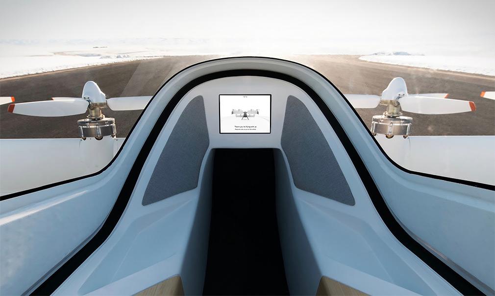 Airbus показал салон летающего такси 2