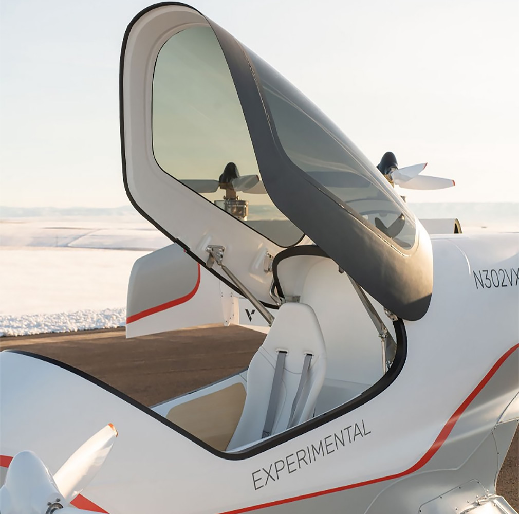 Airbus показал салон летающего такси 3