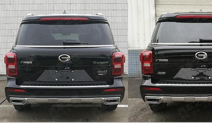 Обновленный китайский «клон» Toyota LC Prado показали на фото 1