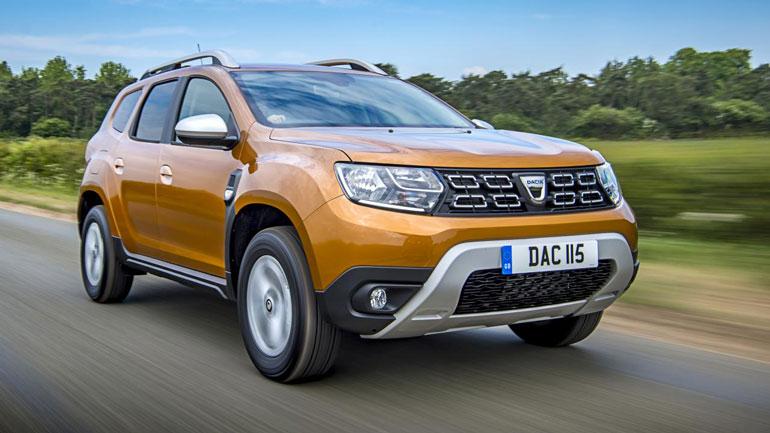Dacia Duster в апреле стал самым продаваемым кроссовером в Европе 1