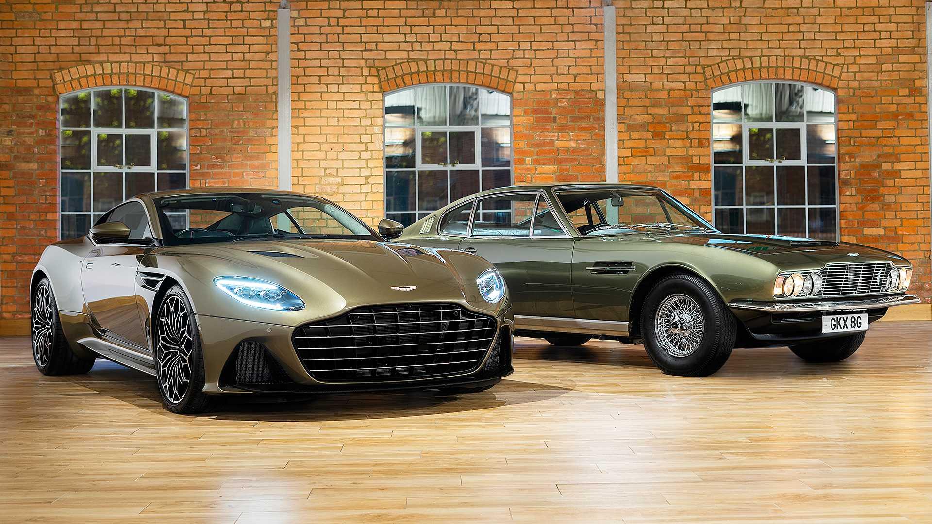 Aston Martin сделал особый DBS Superleggera в честь фильма о Джеймсе Бонде 1