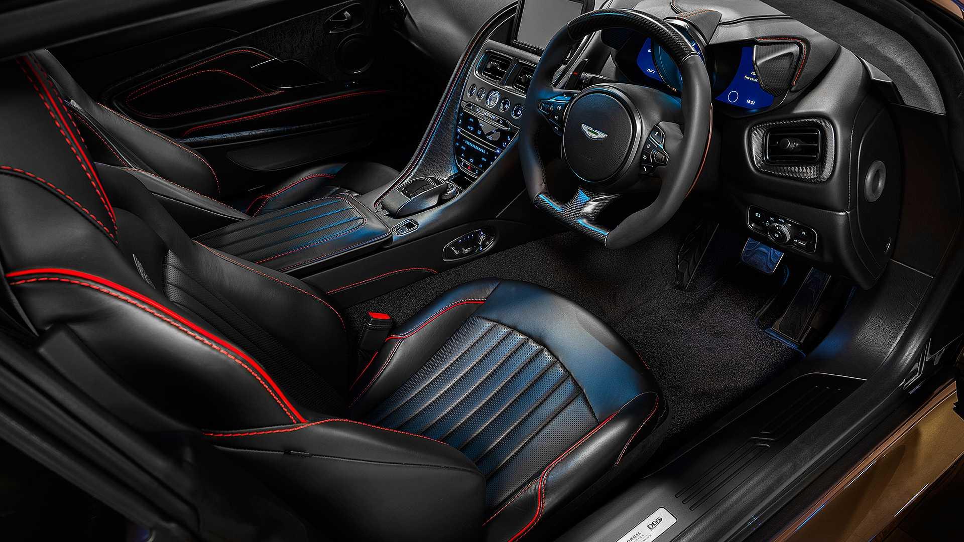 Aston Martin сделал особый DBS Superleggera в честь фильма о Джеймсе Бонде 2