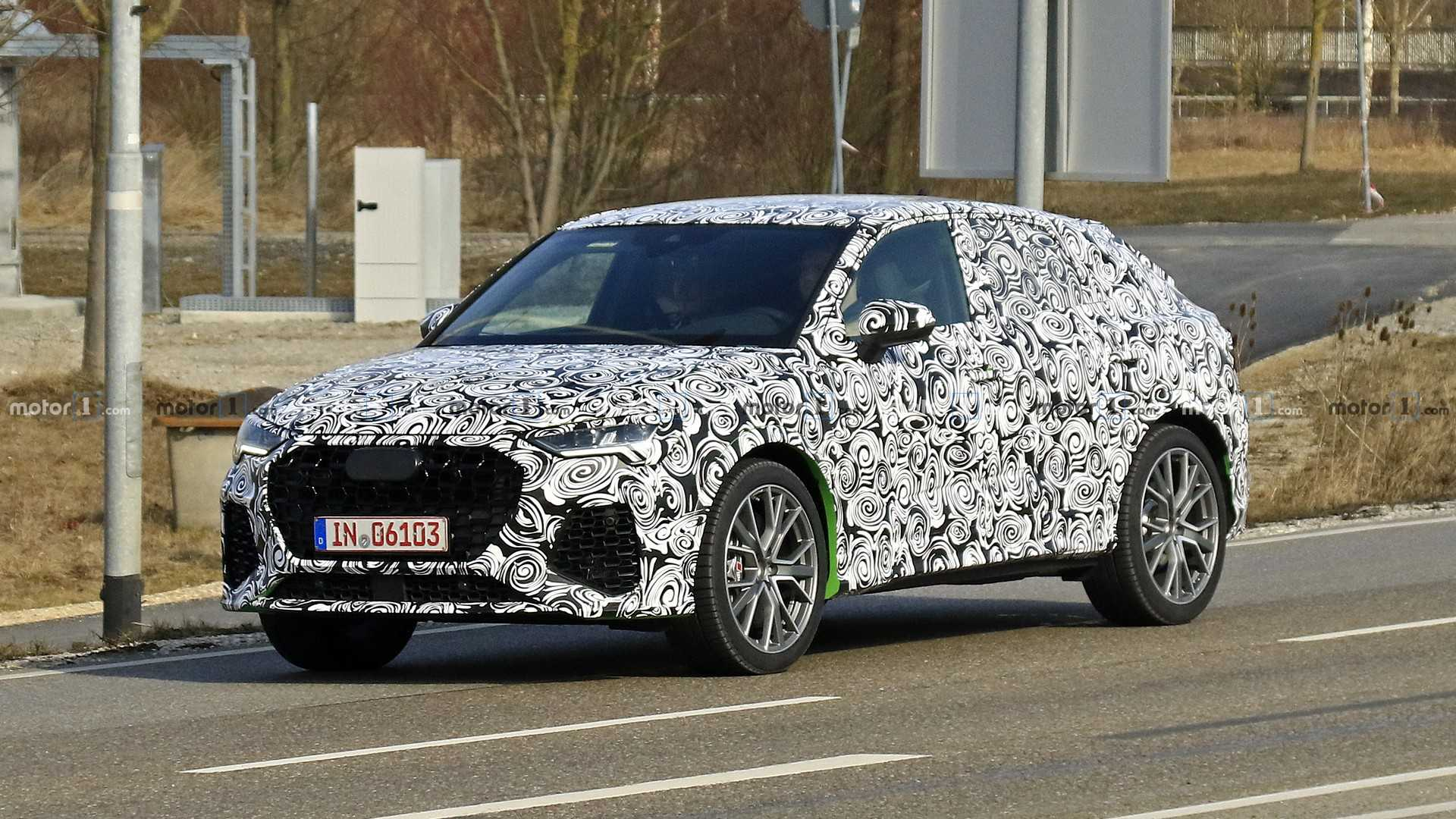 Новый кроссовер Audi Q3 Sportback дебютирует в июле 1