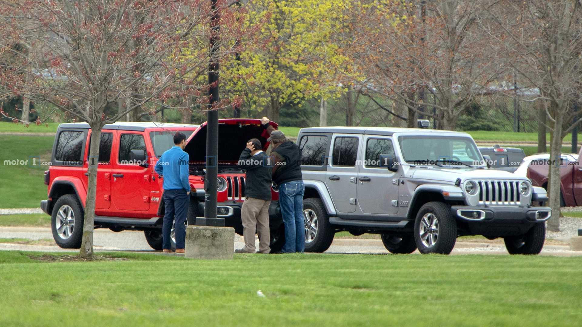 Папарацци заметили Jeep Wrangler с дизельным двигателем 1