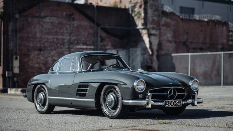 63-летний Mercedes-Benz 300SL Gullwing уйдет «с молотка» за 1 млн долларов 1