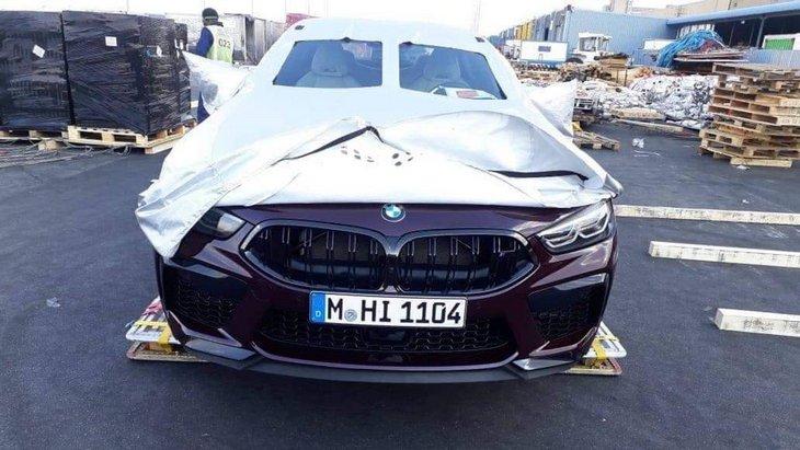 Самую мощную BMW M8 сняли без камуфляжа 1