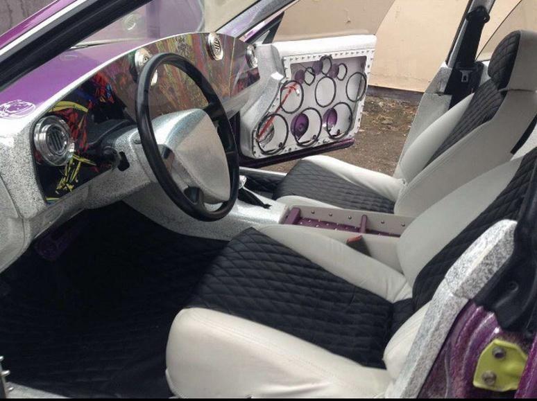 Ужасный тюнинг обезобразил Toyota Camry 3