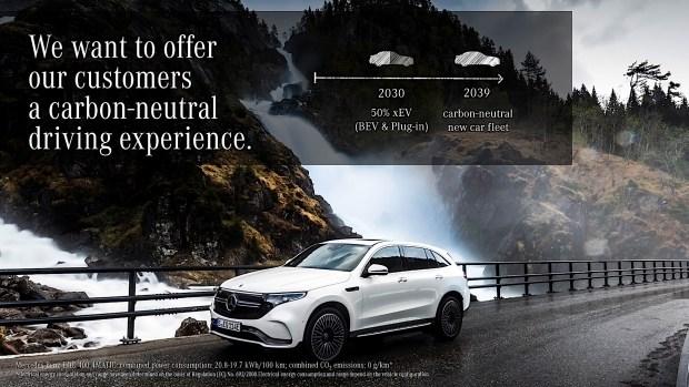 Mercedes-Benz в ближайшие 20 лет будут иметь нулевые выбросы 1