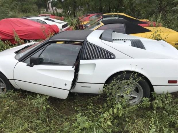 Кладбище заброшенных суперкаров Ferrari 1