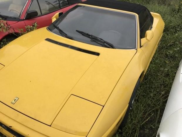 Кладбище заброшенных суперкаров Ferrari 3