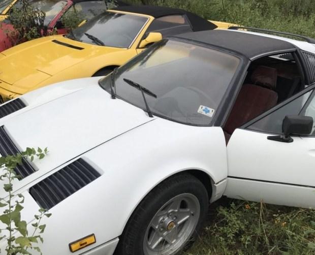 Кладбище заброшенных суперкаров Ferrari 2