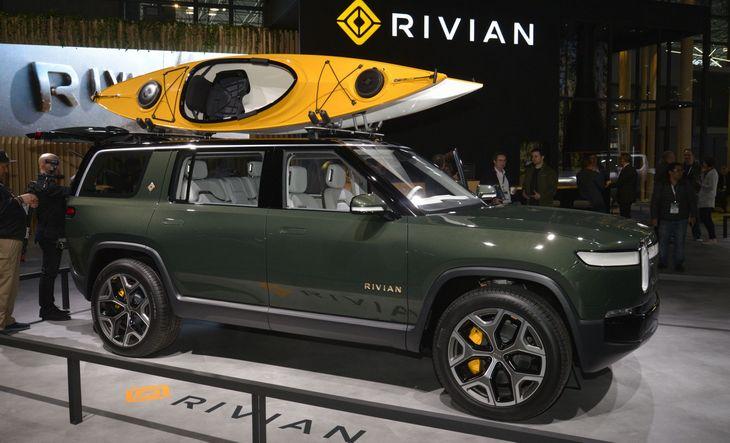 Rivian оснастит свои электромобили гигантской батареей 1