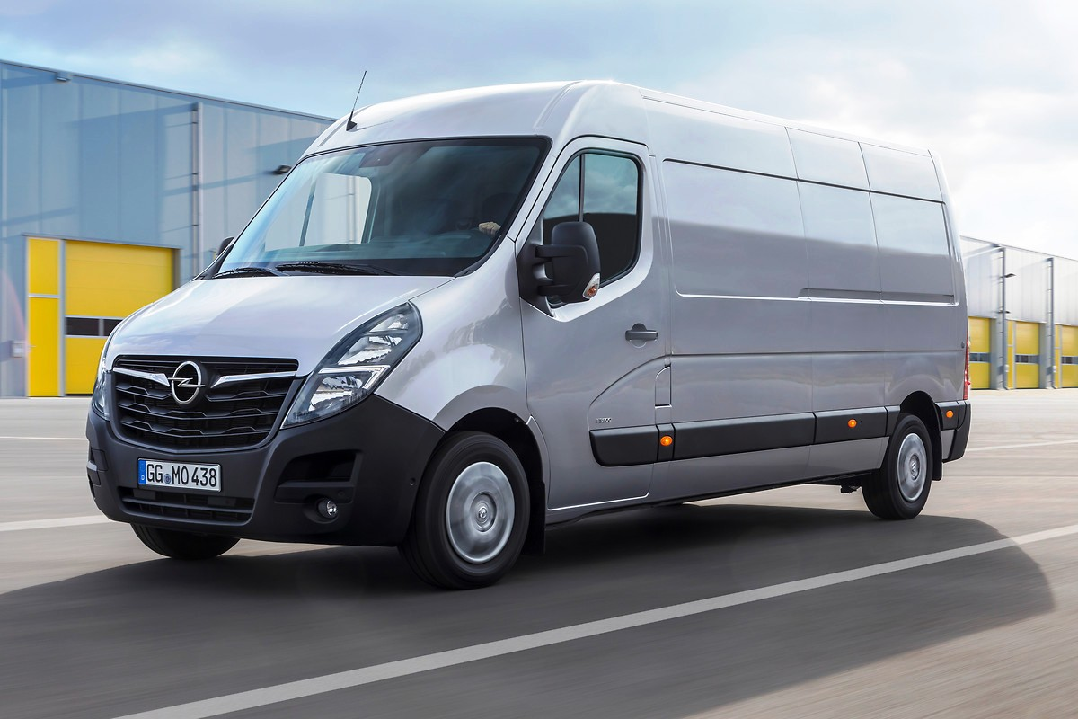 Обновился большой фургон Opel Movano 1