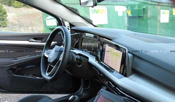 Как будет выглядеть салон нового Volkswagen Golf 1