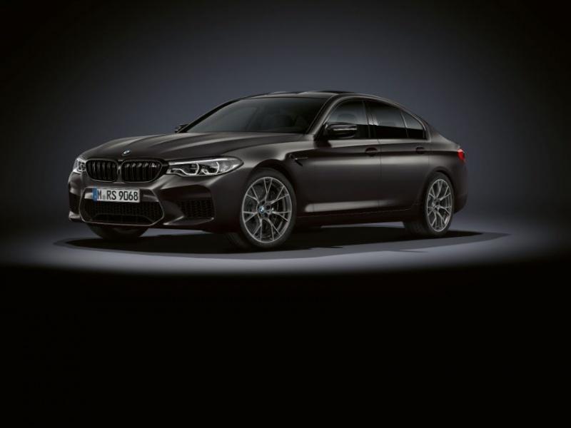 BMW отметила 35-летие M5 юбилейной версией суперседана 2