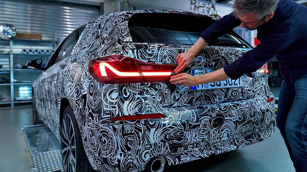 BMW показала дизайн новой 1-Series 2