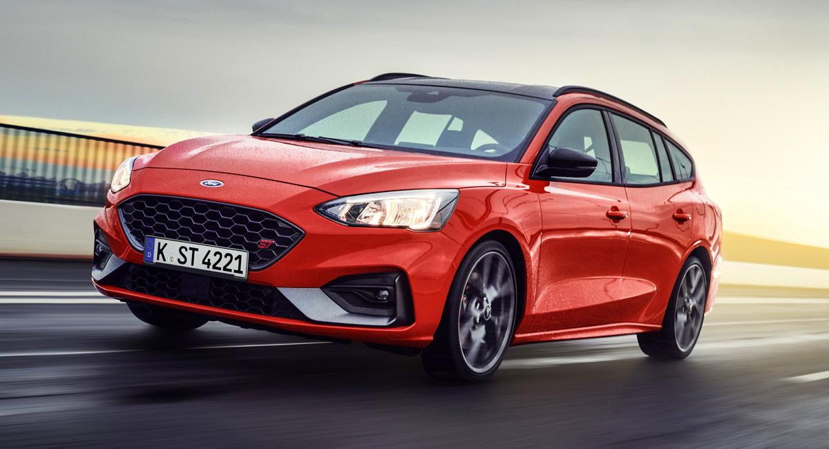 Новый Ford Focus ST представлен в формате универсала 1