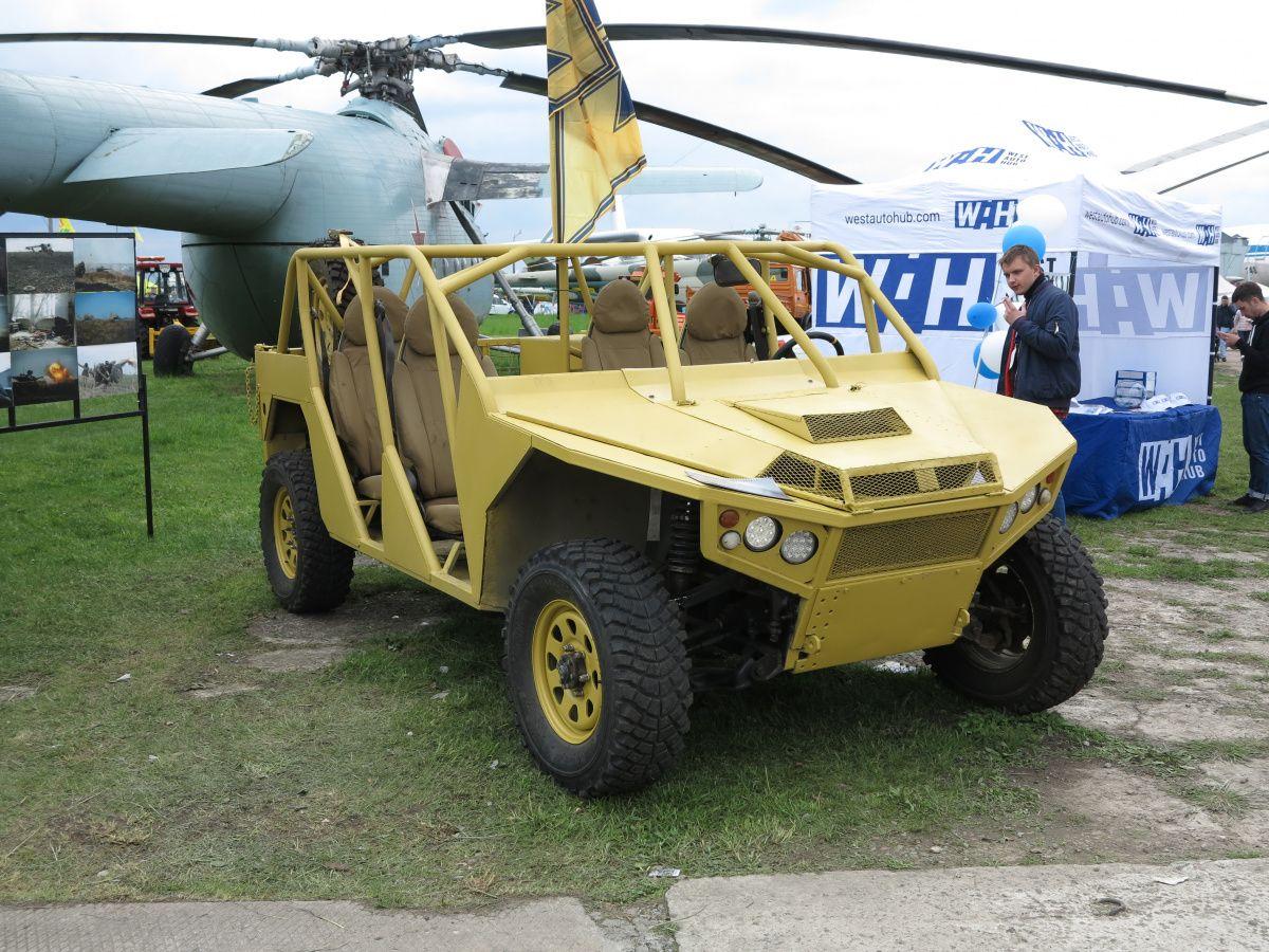 Азовский прототип – новый багги для военных 1