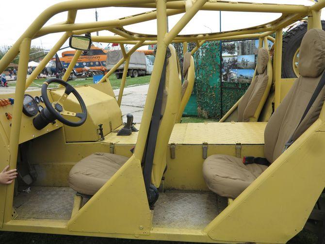 Азовский прототип – новый багги для военных 3