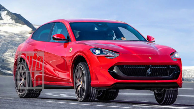 Ferrari может выпустить конкурента Lamborghini Urus 2