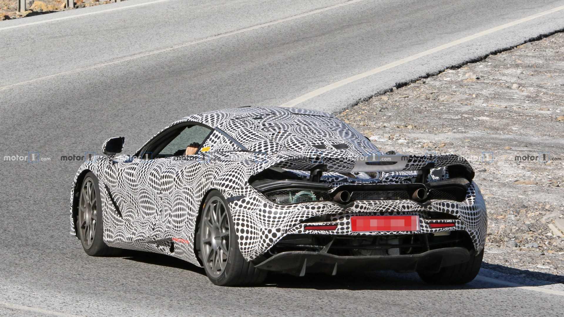 McLaren вывел на тесты новый гибридный суперкар 2