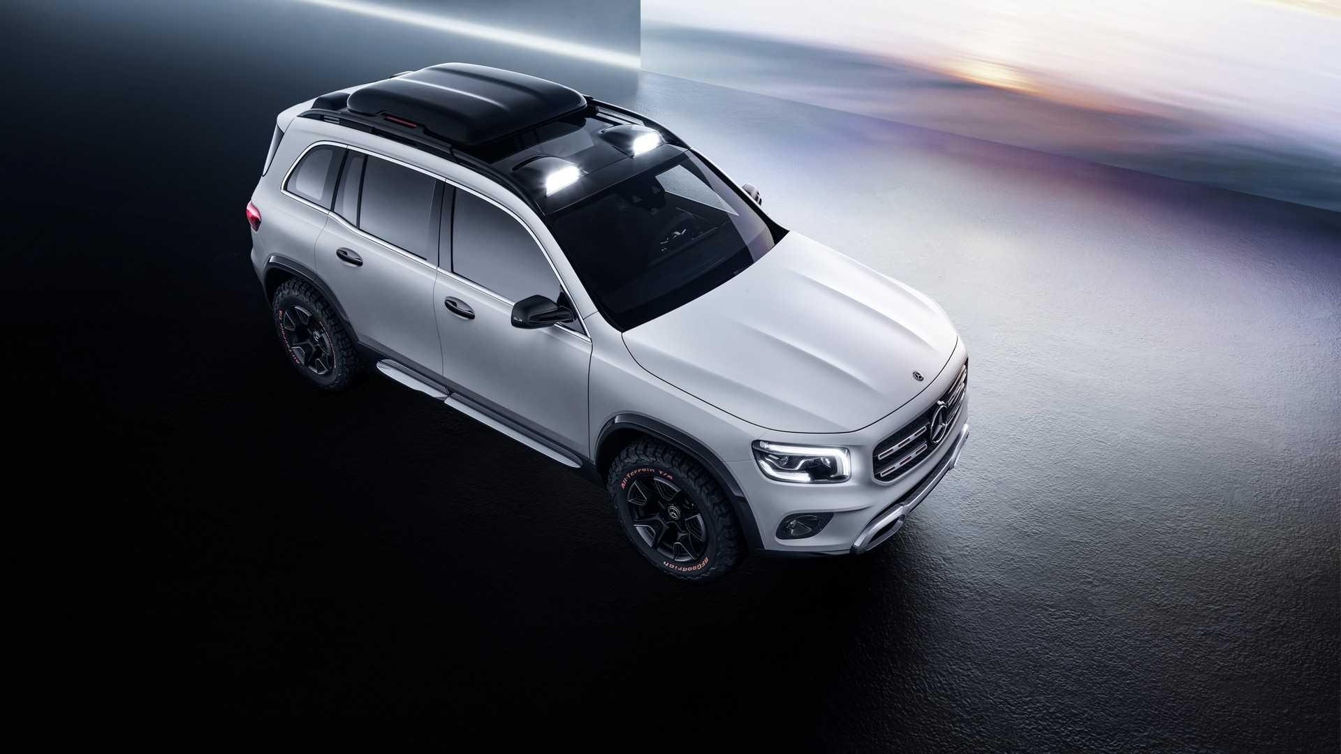Mercedes-Benz GLB может получить внедорожный пакет 1