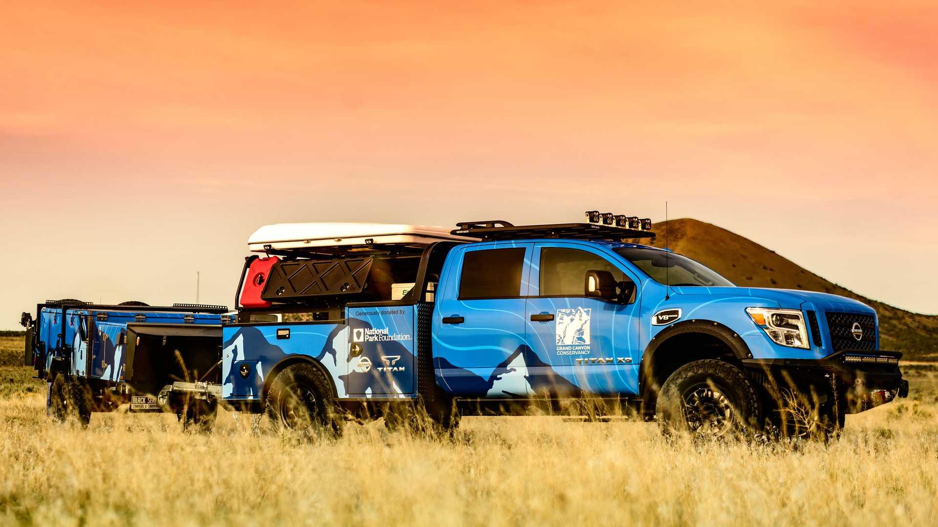 Nissan подготовил Titan для работы в Гранд-Каньоне 1