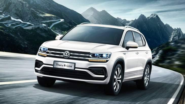 Volkswagen запустит на рынок США компактный кроссовер Tarek 1