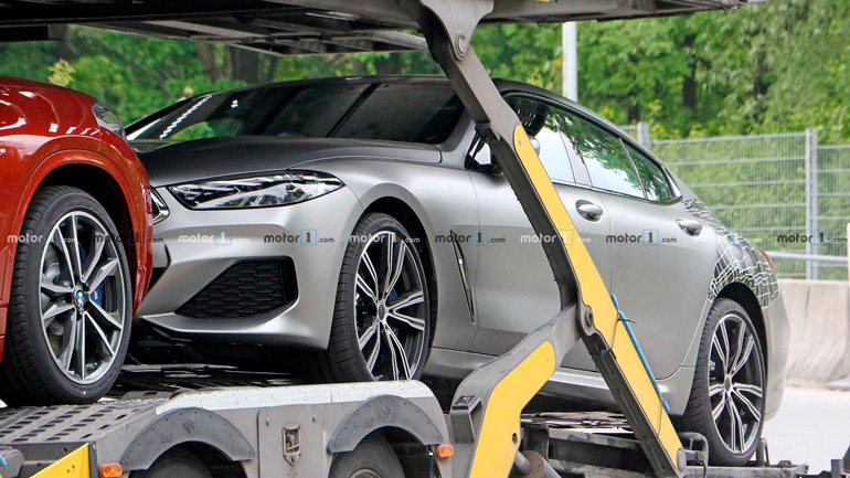 BMW 8 Series Gran Coupe замечен почти без камуфляжа 1