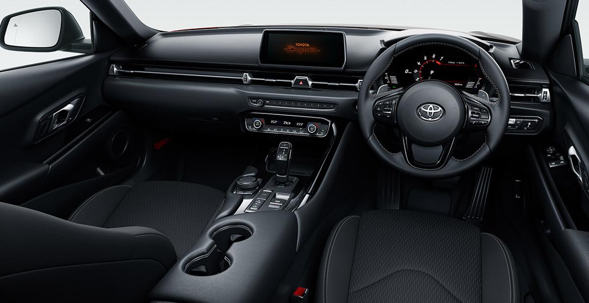 Новая Toyota Supra в Японии: базовая версия и обвес TRD 3