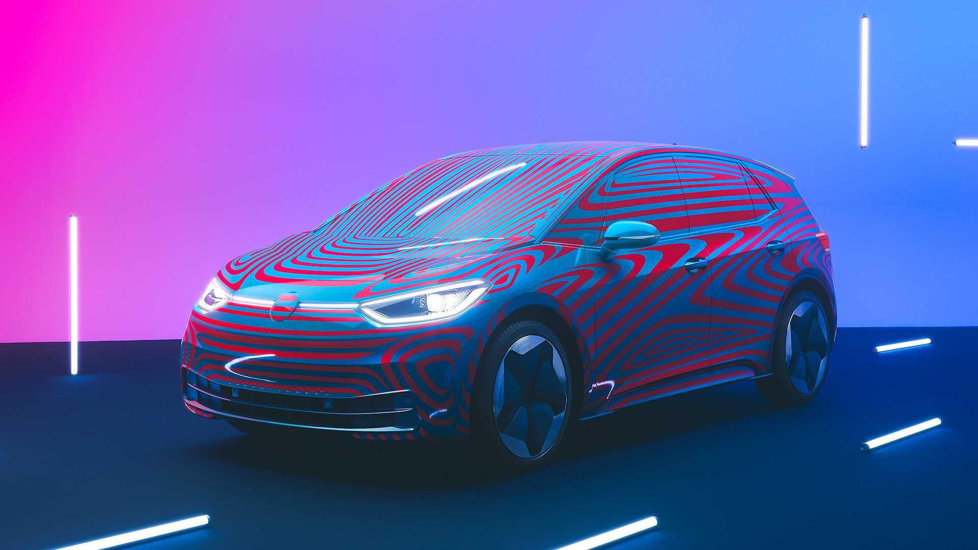 Электрический VW ID.3 распродан наполовину всего за неделю 1