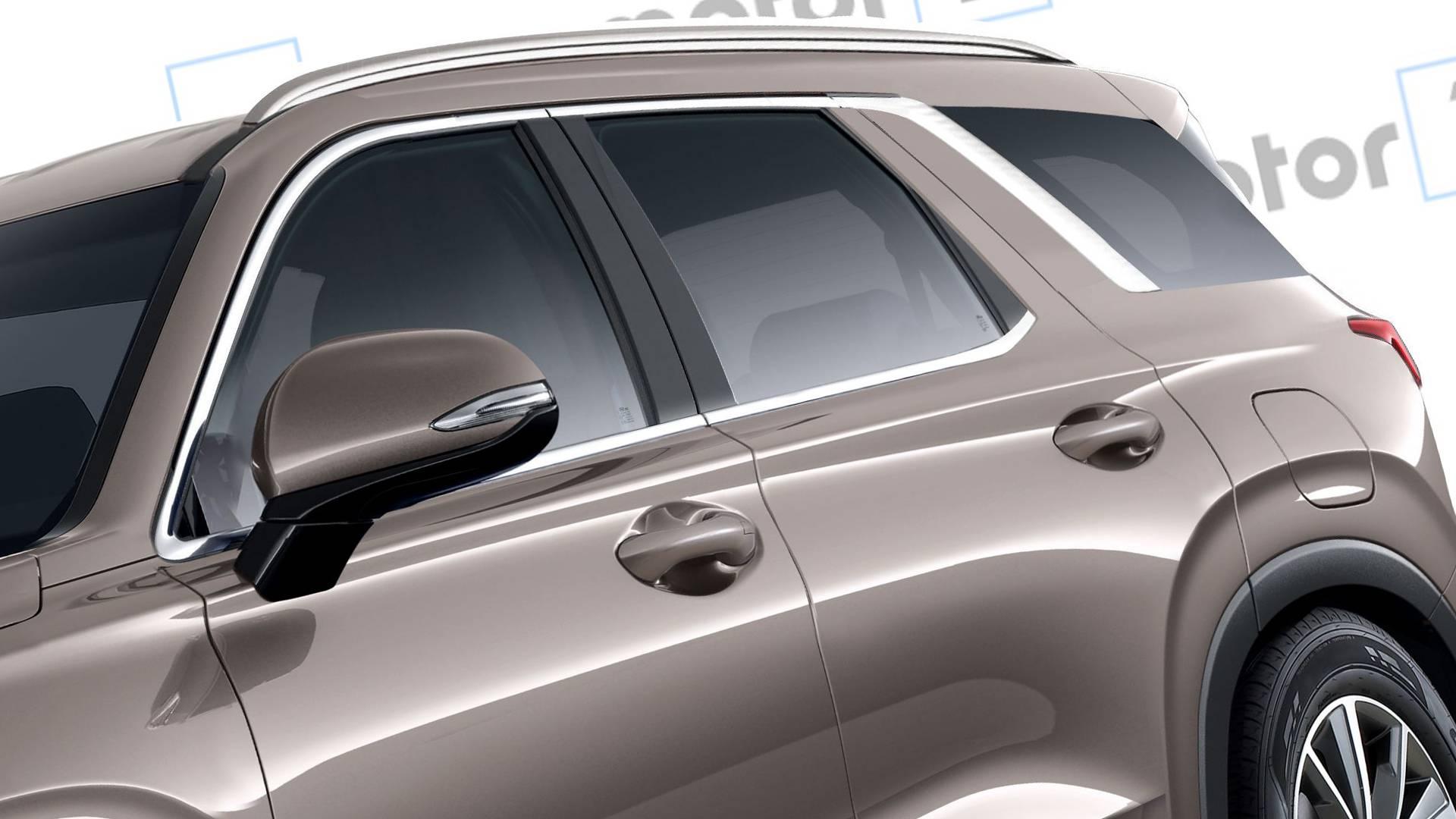 Рассекречен дизайн кроссовера-гиганта Hyundai Palisade 2