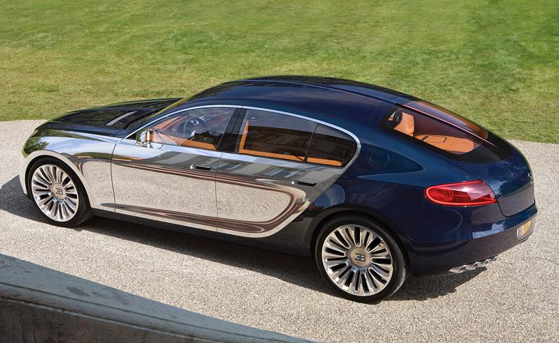 Четырехдверный Bugatti - это не «миф» 1